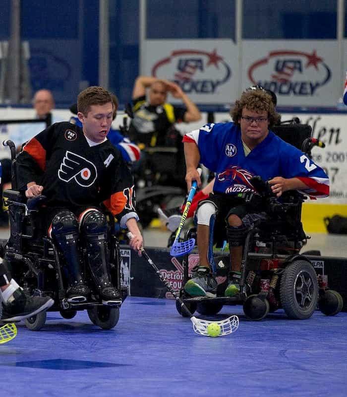 Wheelchair Floorball Floorballplanet