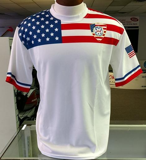 Official USA Floorball Jersey - 100% Polyester   FloorballPlanet